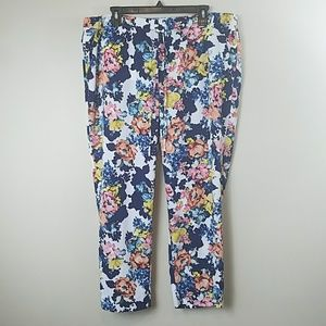 The Limited Floral Ankle Length Pants